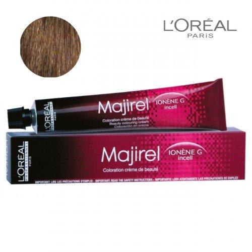 Krēmveida krāsa 7.43 Loreal Majirel, 50ml