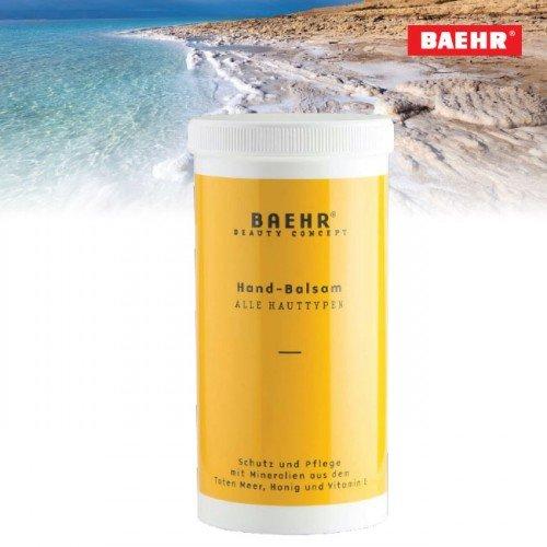 Roku balzams uz Nāves jūras minerālu bāzes Baehr, ar dozātoru, 500ml