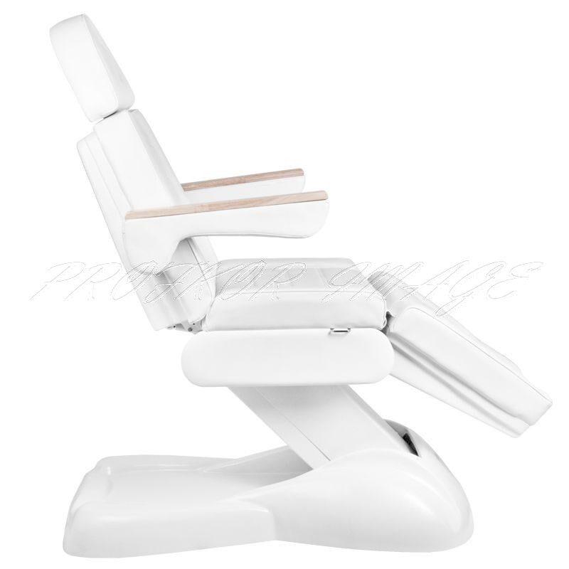 Kosmetoloģiskais krēsls LUX 273B ar 3 motoriem, bez turētāja, ar sildīšanas funkciju