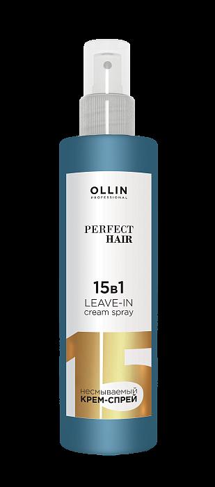 Neizskalojams losjons 15-1 OLLIN Perfect Hair 15in1 Leave-in spray, 250ml