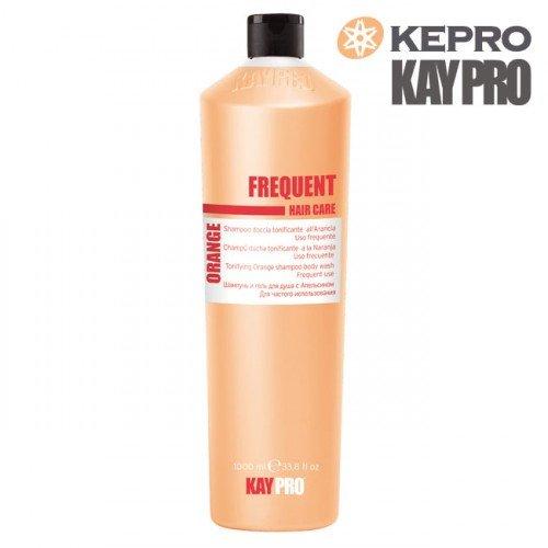 Šampūns un dušas želeja ar apelsīnu Kepro Kaypro Orange, 1L