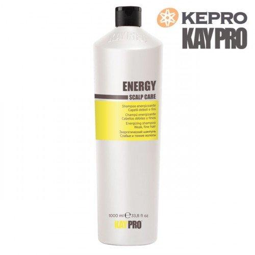 Šampūns plāniem matiem Kepro Kaypro Energy Scalp care, 1L
