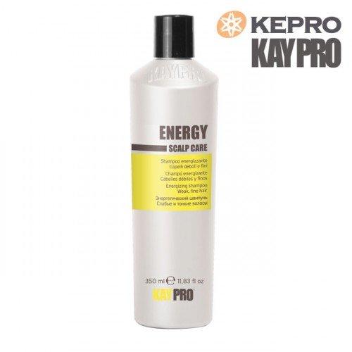 Šampūns plāniem matiem Kepro Kaypro Energy Scalp care, 350ml