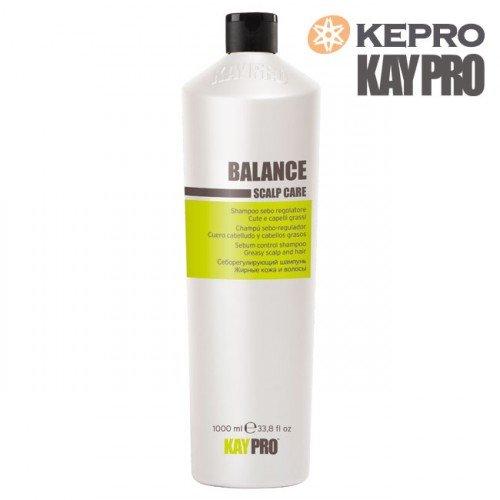 Šampūns taukainiem matiem Kepro Kaypro Balance Scalp care, 1L