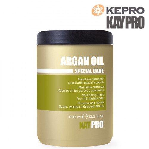 Matu maska ar argana eļļu Kepro Kaypro Argan Oil, 1L