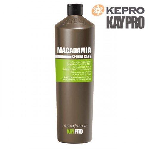 Šampūns trausliem matiem Kepro Kaypro Macadamia, 1L