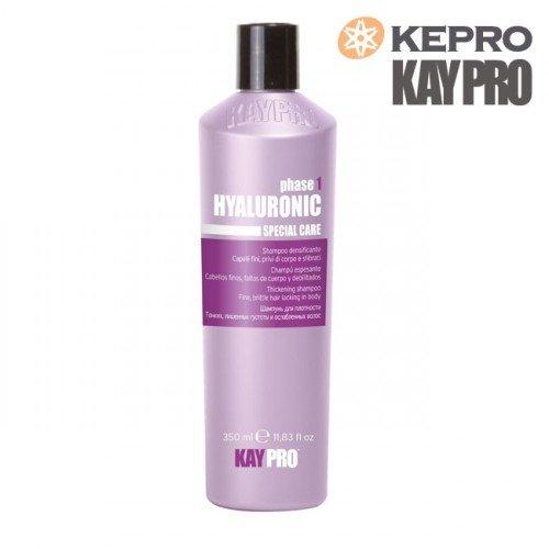 Šampūns trausliem matiem Kepro Kaypro Hyaluronic Phase1, 350ml