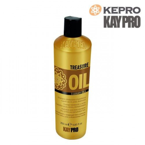 Šampūns Kepro Treasure Oil 5 luxury oils, 350ml