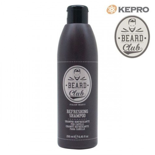Šampūns Kepro Beard Club Refreshing, 250ml