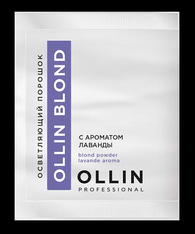 Pulverveida balinātājs ar lavandas aromātu OLLIN BLOND, 30gr