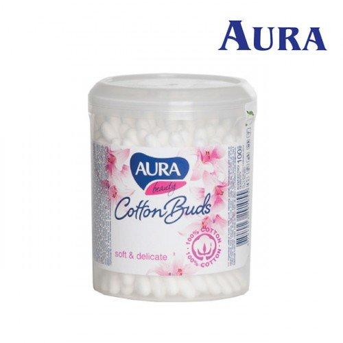 Aura Beauty vates kociņi karbiņā, 100gab
