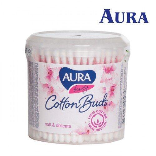 Aura Beauty vates kociņi karbiņā, 200gab