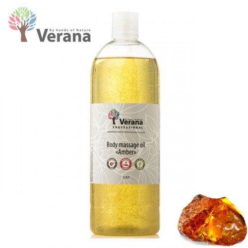 Dzintars masāžas eļļa ķermenim Verana Amber, 1L