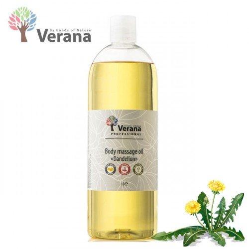 Pienene masāžas eļļa ķermenim Verana Dandelion, 1L