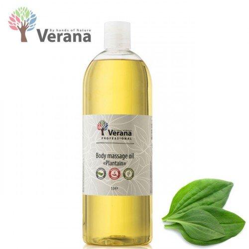Ceļmallapa masāžas eļļa ķermenim Verana Plantain, 1L