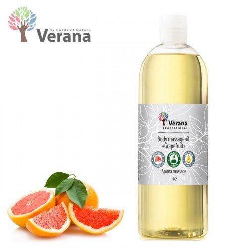 Greipfrūts ķermeņa masāžas eļļa Verana Grapefruit, 1L