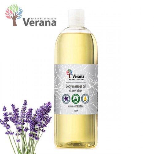 Lavanda ķermeņa masāžas eļļa Verana Lavender, 1L