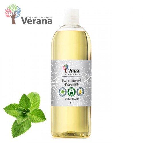 Piparmētra ķermeņa masāžas eļļa Verana Peppermint, 1L