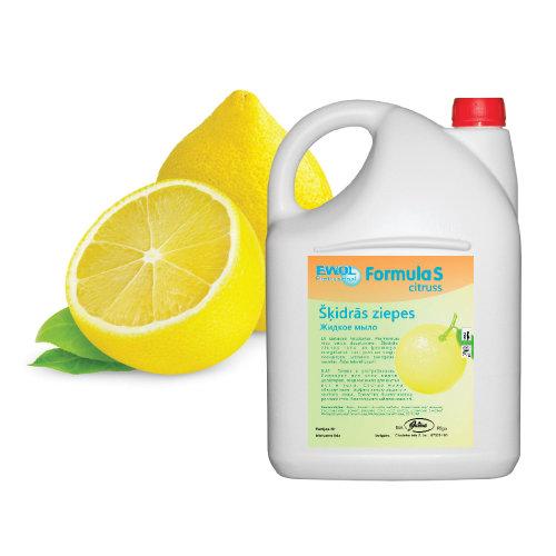 Šķidrās ziepes Jusma Ewol citrons, 5L