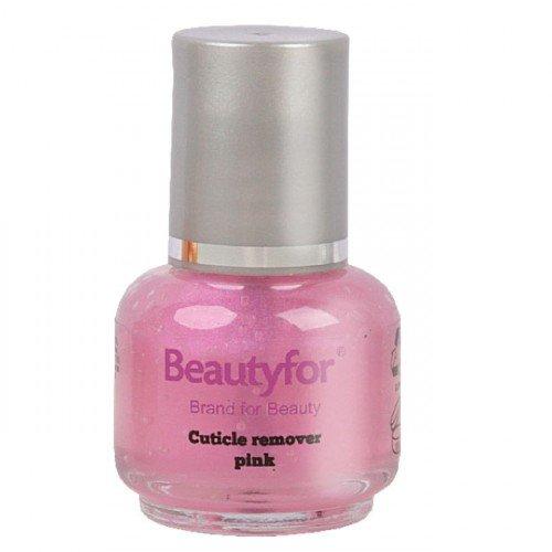 Kutikulas noņēmējs (rozā krāsā) Beautyfor, 15ml