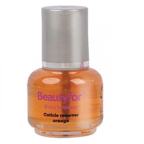 Kutikulas noņēmējs (oranžā krāsā) Beautyfor, 15ml