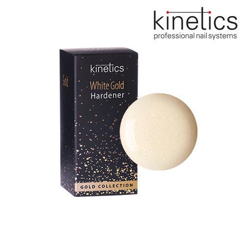 Stiprinātājs nagiem Kinetics White Gold Hardener, 15ml