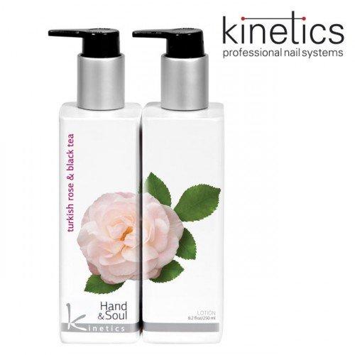Losjons Тurku roze un Melnā tēja Kinetics Hand&Soul, 250ml