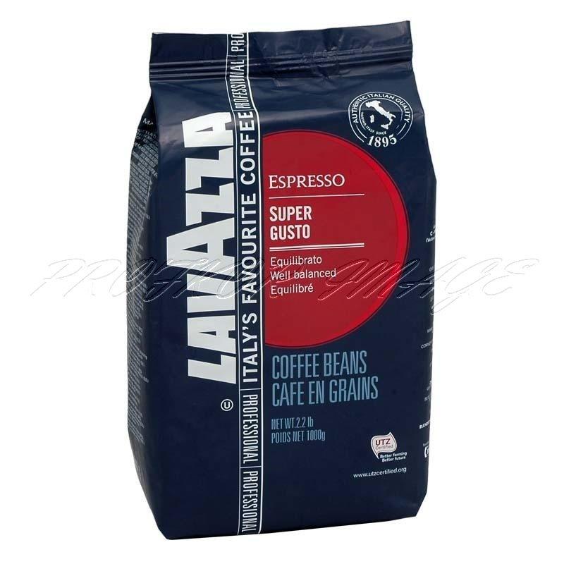Kafija Lavazza Super Gusto UTZ Espresso, 1kg, pupiņās
