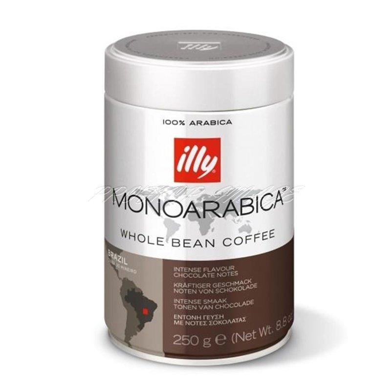 Kafija Illy Monoarabica Brazil, 250g, pupiņās