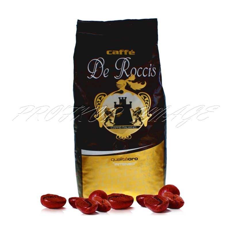 Kafija De Roccis Qualita Oro Intenso Espresso, 1kg, pupiņās