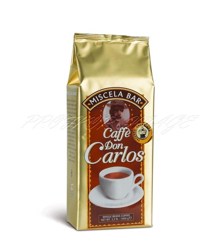 Kafija Carraro Caffe Don Carlos, 1kg, pupiņās