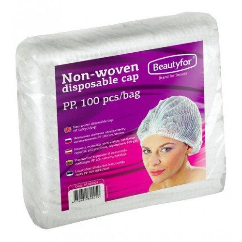 Gofrētas cepurītes Beautyfor, 100 gab