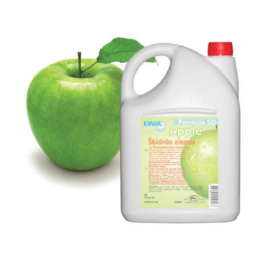 Šķidrās ziepes Jusma Ewol ābols, 5L