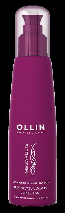 Līdzeklis matu spīdumam OLLIN Megapolis Light Cristals, 125ml