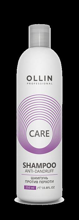 Pretblaugznu šampūns OLLIN Care Anti-Dandruff Shampoo, 250ml