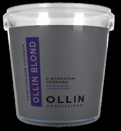 Pulverveida balinātājs ar lavandas aromātu OLLIN BLOND, 500gr