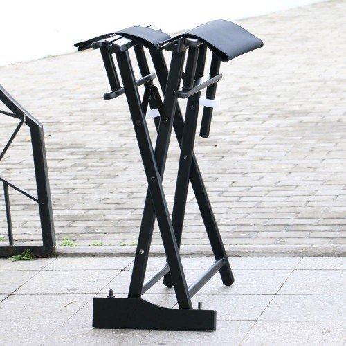 Grima krēsls, melns KC-CH01