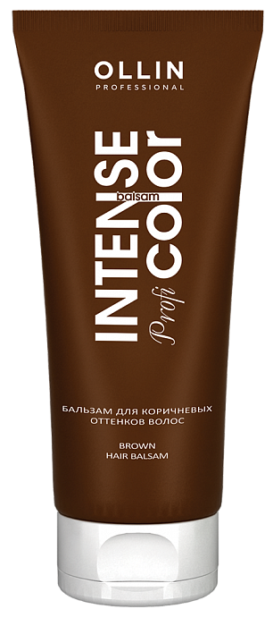 Kondicionieris brūnam matu tonim OLLIN Intense Profi Color Conditioner, 200ml