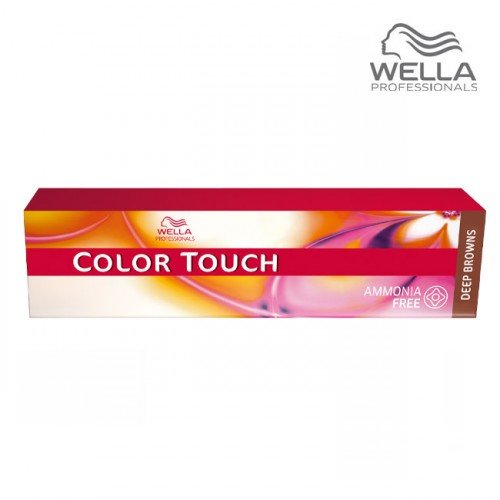 Matu krāsa Wella Color Touch 4/77 Deep Brown Medium Brown Brown Intensive, 60ml