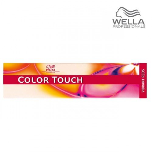 Matu krāsa Wella Color Touch 77/45 Vibrant Red Medium Blonde Inten sive Red Mahogany, 60ml