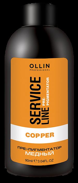 Vara pigmentācijas fluīds OLLIN Srvice line Copper Fluid Pre-Color, 90ml