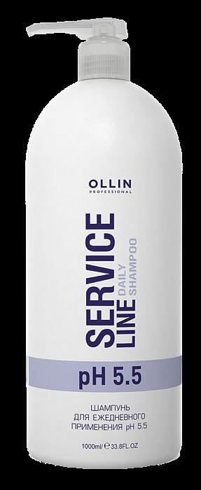 Šampūns ikdienas lietošanai OLLIN Service Line Daily shampoo, 1L