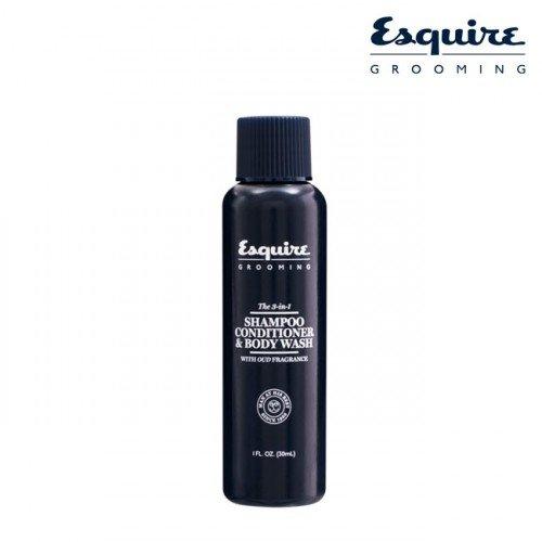 Šampūns, kondicionieris un dušas gēls (3-1), 30ml