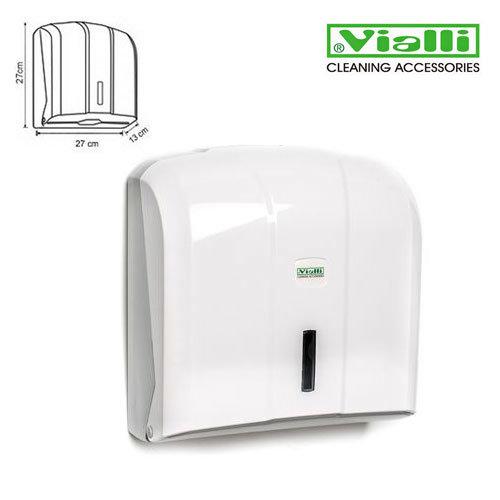 Papīra dvieļu turētājs dispensers Vialli V- un C-fold loksnēm