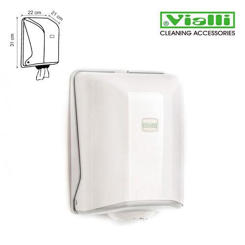 Papīra dvieļu turētājs dispensers Vialli ruļļiem