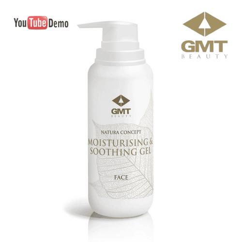 Dziļi mitrinošs gels GMT Nature Concept Face Moisturising & Soothing Gel, 200ml