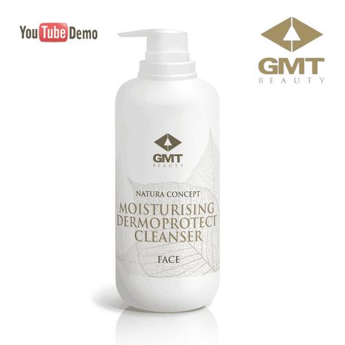 Seju attīrošs-mitrinošs līdzeklis GMT Nature Concept Face Moisturising Dermoprotect Cleanser, 500ml