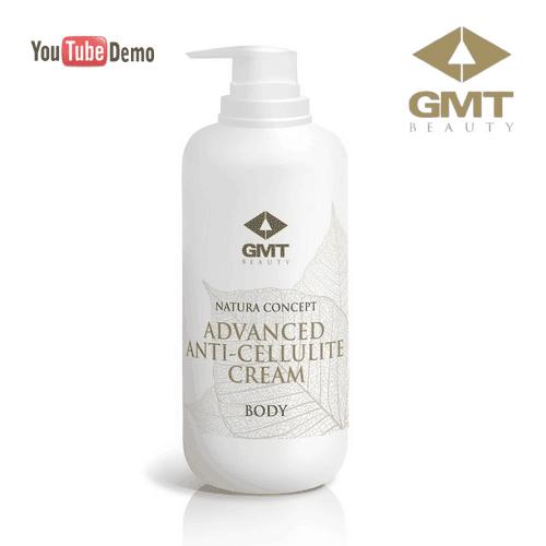 Inovatīvs pretcelulīta krēms GMT Nature Concept Body Advanced Anti-Cellulite Cream, 500ml