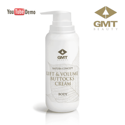 Aktīvi sildošs krēms GMT Nature Concept Body Lift & Volume Buttocks Cream, 200ml