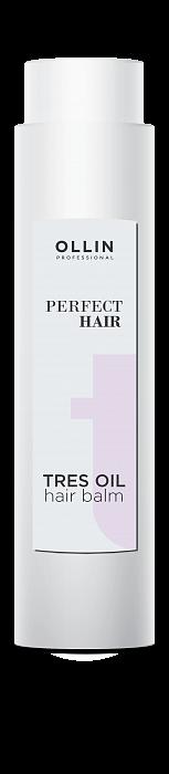 Kondicionieris ar jojoba, vīnogu eļļām OLLIN Perfect Hair Tres oil Hair balm, 400ml